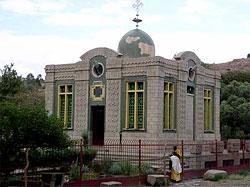 Храм, в котором, по преданию, хранится Ковчег Завета