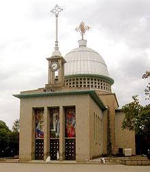 Главный храм монастыря Дебре Лебанос