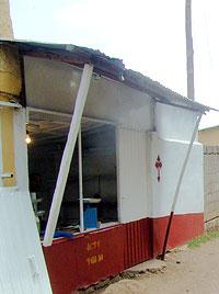 Христианская мясная лавка в Аддис-Абебе