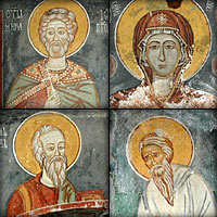 Образ Сербии. Монастыри Подврх и Добриловина