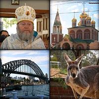 «К нам пришла Родина»: Делегация Московского Патриархата в Австралии