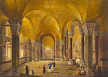 "alt='Chevalier Gaspard Fossati, ""Aya Sofia Constantinople…"", 1852'"
