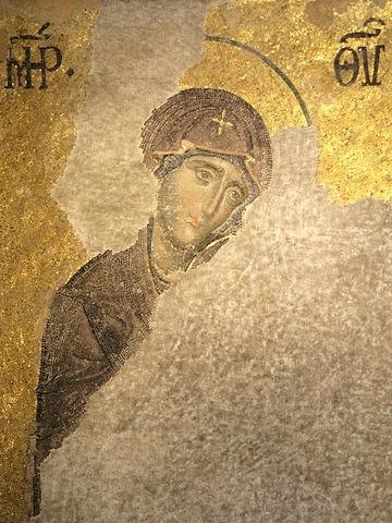 Пресвятая Богородица. Часть Дисиса