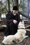 Владыка Максимилиан, Автопортрет с собакой