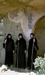 Монахини-маломницы в лавре преподобного Давида Гареджийского