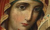 Чтимая Иверская икона Пресвятой Богородицы, изрезанная скальпелем в советские годы