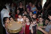 Дети в бодбийском храме