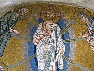 Orthodox theology sees in the Transfiguration a prefigurement of our Lord's Resurrection and His Second Coming, and more than this—since every event of the Church calendar has an application to the individual spiritual life—of the transformed state i