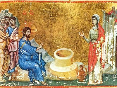 This single meeting between Christ and the Samaritan woman turns into a meeting with the living God for both the sinful woman and for the entire world, inasmuch as here, at the well of temporal water, the hitherto unknown source of Eternal Life was f
