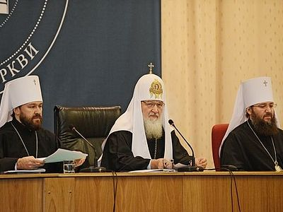 6 ноября 2013 года Святейший Патриарх Московский и всея Руси Кирилл возглавил открытие Международной богословской конференции Русской Православной Церкви «Современная библеистика и Предание Церкви» в Москве.