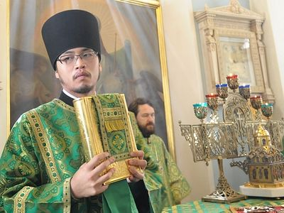 Hierodeacon Nikolai (Ono) comes from an old family of priests of the Japanese Orthodox Church. His great-great grandfather's name—Priest John Ono—is often mentioned in the diaries of Sti. Nicholas of Japan. We talk with Fr. Nikolai about his family a