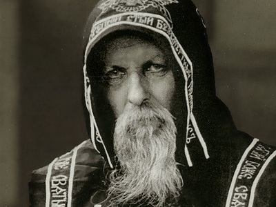"Hearing this, St. Seraphim sighed softly and waved his hand: ""What are you thinking, Matushka? Do you understand who you are giving your daughter to? He's a convict! A convict! What wedding? What crowning? The Great Siberian Way is in store for him."""