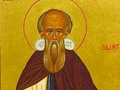 "St. Comgall is venerated as one of the greatest confessors, spiritual fathers and ascetics of his age. The biographer of St. Columban, Jonah of Bobbio, wrote the following of St. Comgall: ""He was a great father of monks in Ireland, noted for his pers"