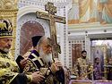 Sermon by His Holiness, Patriarch Kirill, on the feast of the Exaltation of the Cross of the Lord in Moscow's Church of Hieromartyr Clement, Pope of Rome