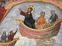 Eighteenth Sunday after Pentecost: the Miraculous Catch of Fish.