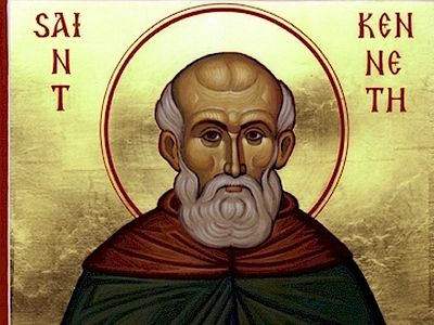 St. Kenneth became renowned for his sermons, which were full of inspiration and rated very highly by his contemporaries. Among other things, the saint was a well-known spiritual poet and theologian as well. These written works include commentaries on