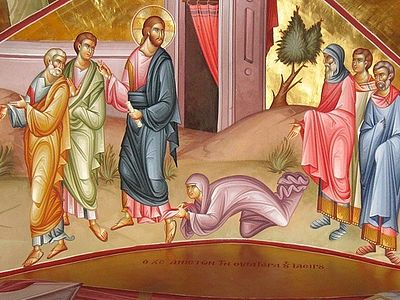 Today's Gospel concerns two miracles, one the healing of an illness and the other the overcoming of death. These two miracles are closely linked, for both illness and death have the same origin, the same cause, they are both the result of sin, both e