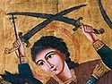 "From ""On the East"". A Miracle of Great Martyr Mercurius"