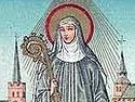Venerable Milburgh, Abbess of Much Wenlock in England