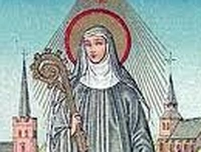 From time immemorial Milburgh has been one of the most popular and venerated female saints of the county of Shropshire in the west of England, along with St. Winefride.
