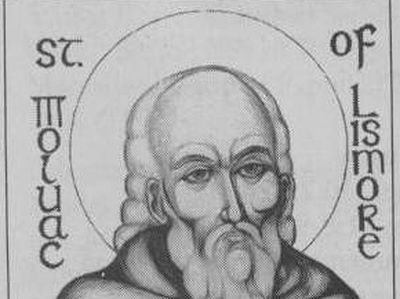 St. Moluog was an Irishman destined to become one of the most venerated saints in Scotland. He was born in about 530 in what is now Northern Ireland to a noble family. His first monastery was Bangor in Ireland; and about the year 562 he crossed the I