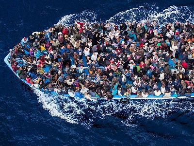 "The arrival of thousands of refugees, migrants and settlers from Africa and Asia to ""the Old World"" is already being interpreted by many Europeans as a catastrophe, a curse, and a real challenge not only to the culture, economy, and the Christian fai"