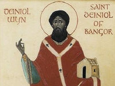 St. Deiniol (the Welsh from of Daniel) lived in the sixth century. He was a descendant of one Celtic ruler in Northern Britain.