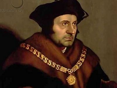 Thomas More was martyred by Henry VIII in England for his refusal to approve of the king's adulterous marriage to Anne Boleyn. Like St. John the Baptist, he preferred God's law to man's. He died as a lawyer and a prophet. It is a lesson worth conside