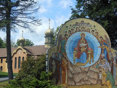 "St. Tikhon's Monastery is home to a rich history and a great many ""treasures"" of Orthodoxy, some known, some relatively unknown, which stand as a testament to the prayers and labors of our American apostle, St. Tikhon, and his continuing heavenly pro"