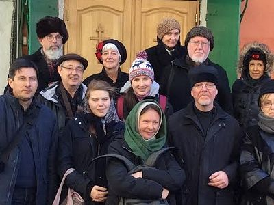 A group of pilgrims from England recently made their way to Russia to explore the spiritual treasures of Moscow, and particularly those relating to the lives of their parish patron St. Elizabeth the Grand Duchess and New Martyr, and all the New Marty