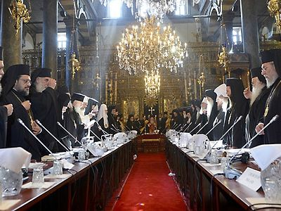 It can be concluded without hesitation that the Patriarchate of Constantinople is looking increasingly isolated from mainstream of the Orthodox Church and its Council project, at least in its old form, is looking increasingly in doubt. As has been sa