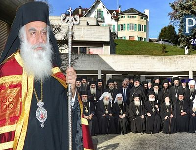 His Eminence Metropolitan Symeon offers remarks on a variety of questions and expresses resolute protest against the fact that not every bishop will have the right to vote at the pan-Orthodox council.