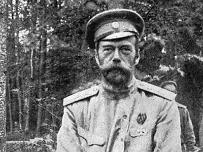 Nicholas II announced that '… for the sake of Russia I was ready to abdicate the crown in favor of my son but … came to the conclusion that in view of his illness I should abdicate for myself and for him too'.