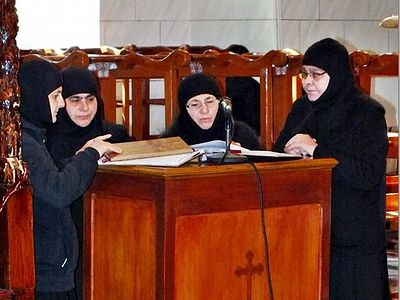 It should be noted that the Convent of the Nativity of the Mother of God at Saidnaya was one of the first Syrian monastic communities to suffer at the hands of militants: on Sunday January 29, 2012, the convent, situated 35 kilometers from Damascus,