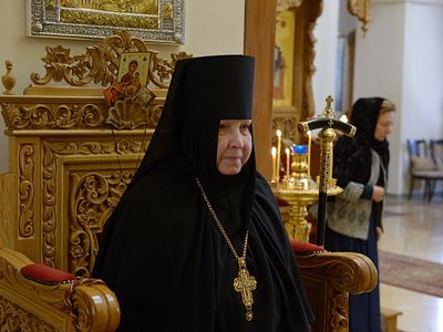 March 24 marked twenty-five years of service as the abbess of the Gorny Convent in Jerusalem for Igumena Georgia (Schukina), reports the site of the Russian Spiritual Mission in Jerusalem.
