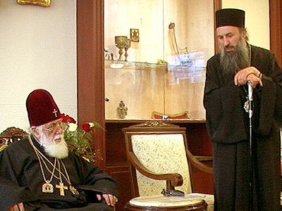 The texts which are being prepared for the Great and Holy Council must stress clearly and without ambiguity that the Orthodox Church is the unique One, Holy, Catholic and Apostolic Church in which there is Apostolic Succession, true Baptism, the Divi