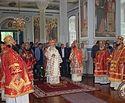 Патриарх Кирилл и архиереи Русской Церкви почтили память всех преподобных русских святогорцев