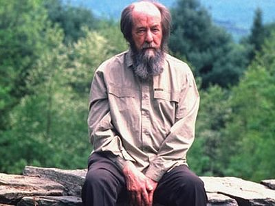 For a variety of reasons, I have been spending a fair amount of time with A.I. Solzhenitsyn, the great Russian writer who died in 2008.