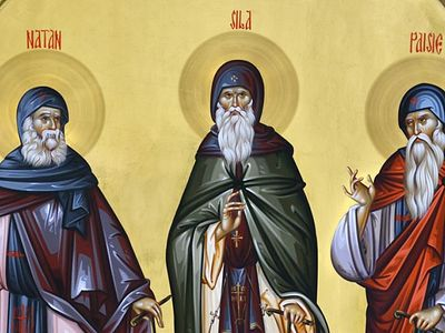 On the agenda of today's meeting of the Holy Synod is the approval of the canonization of Metropolitan Jacob Putneanul of Moldova, and the Venerable Fathers Silas, Nathan, and Paisios of Sihăstria Putnei Monastery.