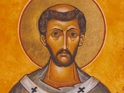 "Together with St. Gregory the Dialogist (Gregory the Great, according to the Western tradition), the Pope of Rome, St. Augustine (also Austin) is venerated as ""the Apostle of the English""."