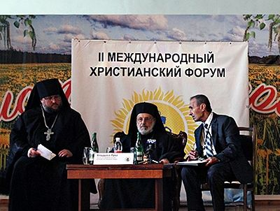 �To my knowledge, I can bring you the good news that our Russian Orthodox Church will after all announce that it will not be taking part in the Pan-Orthodox Council on the island of Crete,� said the vice president of the �Jerusalem� Russian Spiritual