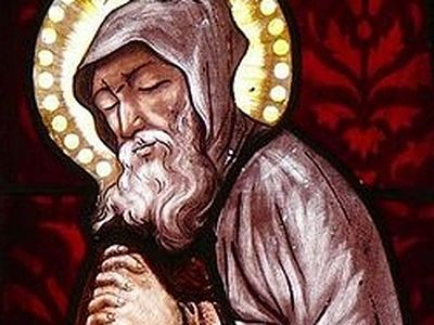 Although St. Herveus (Herve) who lived in the sixth century is still venerated all over Brittany, very little genuine information on him survives. The first detailed Life of this unique holy ascetic was written only in the late Middle Ages. However,
