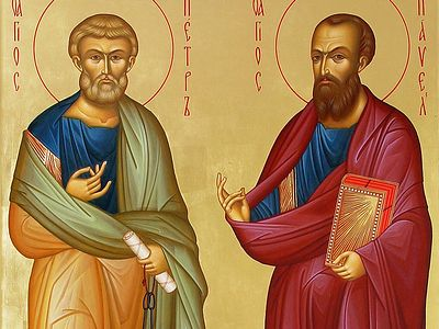 Archpriest Artemy Vladimirov discusses the spiritual meaning of the feast of Sts. Peter and Paul; why these very different individuals who became followers of Christ in very different ways are commemorated together; and how their personal qualities s