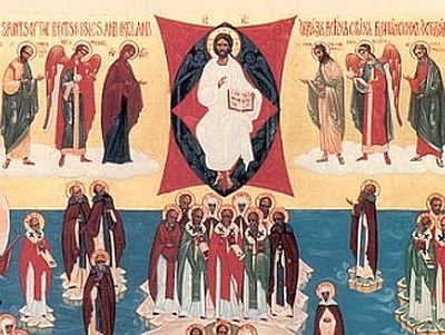 On August 21, 2007, the Holy Synod of the Russian Church officially approved the veneration of all the saints who shone forth in the lands of Britain and Ireland, blessing the annual celebration of their memory on the third Sunday after Pentecost. Th