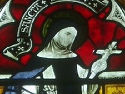 Early England can be proud of having around forty holy abbesses, most of whom were of royal origin. One of them is St. Edith (also Editha, Eadgyth) who became Abbess of Polesworth in central England.