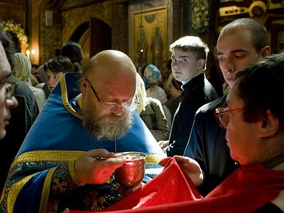 "As part of the special project ""Mysteries of the Church"" Archpriest Artemy Vladimirov speaks on the essence and meaning of each of the seven Mysteries: Baptism, Chrismation, Repentance, Communion, the Mystery of Marriage, the Mystery of the Priesthoo"