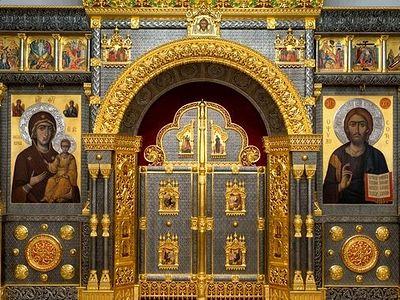 In an Orthodox church there is no thing or action which does not carry meaning of spiritual weight. Even the iconostasis and curtain over the Royal Doors are full-fledged �participants� in the Divine services.