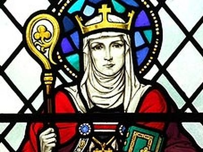 St. Eanswythe gained fame as a wonderworker. There are several cases of her miracles which are known: firstly, she returned sight to a blind woman by her prayers; secondly, she restored the mental health of a mad man; thirdly, a holy spring with heal