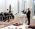 Президент России вручил церковным иерархам государственные награды