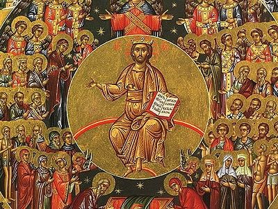 Every believer should go to church on Sundays in order to participate in the Divine Liturgy. Inasmuch as the Resurrection of Christ is the hope of all men we especially honor this day. It is best of all to spend this day after the Liturgy in charitab